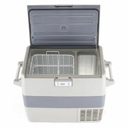 1.8 cu ft 12v/24v/110~240v Refrigerator&Freezer Dual Zone Po