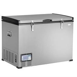100 Quart Portable Electric Cooler Refrigerator Chest Freeze