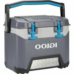Igloo 25 Quart Bmx Lunch Beverage Ice Cooler Gray 00049782
