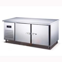 250L Kitchen Stainless Steel Under-Counter Refrigerator Ward