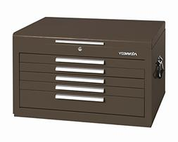 Kennedy 27 Top Chest, 5 Drawers, Brown, 2705XB