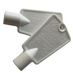 2 Pack 297147700 Freezer Key for Frigidaire Kenmore Door Loc