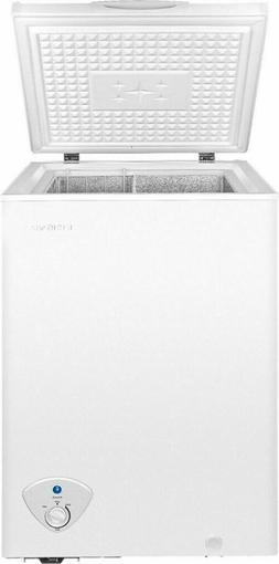 Insignia™ 3.5 Cu. Ft. Chest Freezer - White - NEW IN-BOX!