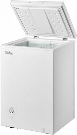 3.5 Cu Ft Deep Compact Freezer Storage Chest Upright Home Ad