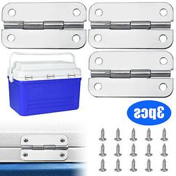 3Pcs igloo cooler replacement hinges + stainless steel screw