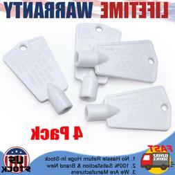 4PCS Frigidaire Freezer Door Key Frigidaire Key for Whirlpoo