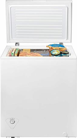 5.0 CF CHEST FREEZER MIDEA MRC050S0AWW 5 CF FREEZER NEW CHES