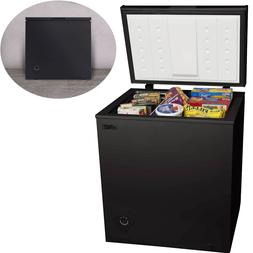 5.0 Cu Chest Deep Freezer Upright Compact Arctic King Black