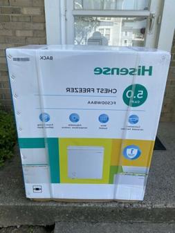 Hisense 5.0 Cu. Ft. Chest Freezer