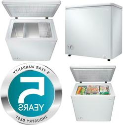 5.5 Cu. Ft. Chest Freezer In White