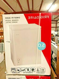 Frigidaire 5 cu ft Chest Freezer -White New In Box Pick UP O
