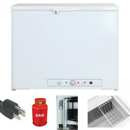 SMAD 7.0 Cu Ft Propane Freezer AC LP Gas Off-grid Chest Refr