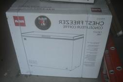 RCA 7.1 Cubic Foot Chest Freezer - White - NEW IN BOX!