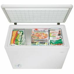Danby 7.2 cu. ft Chest Deep Freezer Frozen Food Stored Round