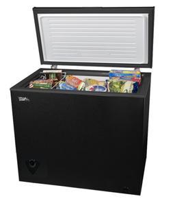Chest Freezer Black 7 Cu.Ft Deep Upright Storage Brand New