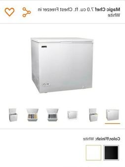 7 CU FT **IN HAND** FREEZER ICE CHEST STORAGE DEEP FREEZE WH