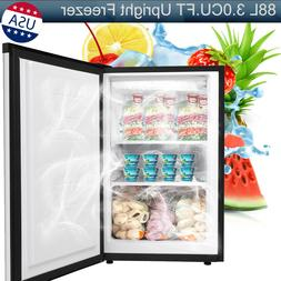 88L 3.0CUFT Upright Freezer Single Door Refrigerator Chest I