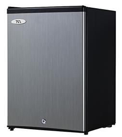 Spt - 2.1 Cu. Ft. Upright Freezer - Stainless-steel