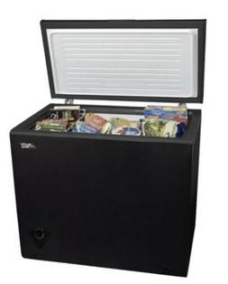 Artic King Chest Freezer 7 CU. FT. Black
