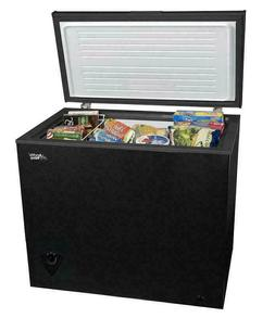 Black Arctic King Compact Deep Chest Freezer 7 CU.FT. Easy T
