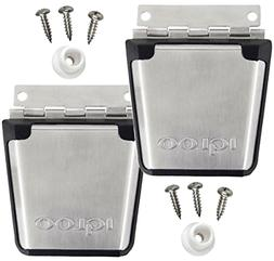 Brand New  Igloo Cooler Stainless Steel Latch Posts & Screws