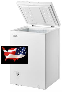 Brand New Arctic King 3.5 cu ft Chest Freezer White FREE SHI