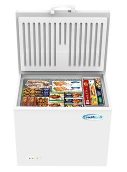 Chest Freezer 10 Cu. Ft. With Adjustable Thermostat For Home
