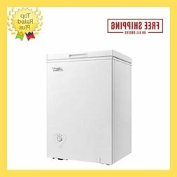 Chest Freezer 3.5 cubic ft Arctic King Deep White Mechanical