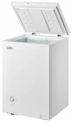 Chest Freezer Storage Ice Deep Freeze 3.5 Cu Ft Quick Freeze