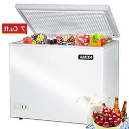 Commercial Top Chest Freezer - Kitma 7 Cu. Ft Deep Ice Cream