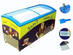 Zebra Products Commercial Ice Cream Freezer SD-575, 7 Basket