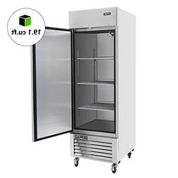 Commercial Single Door Upright Freezer - KITMA Stainless ste
