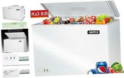 commercial top chest freezer kitma 15 9