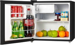 Compact Fridge, Single Reversible Door Refrigerator 1.6 CU F