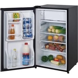 Magic Chef 3.5 cu ft Compact Single Door Refrigerator, Stain