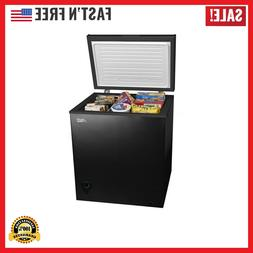 Compact Upright 5.0 Cu FT. Deep Freezer Chest w/ Removable S
