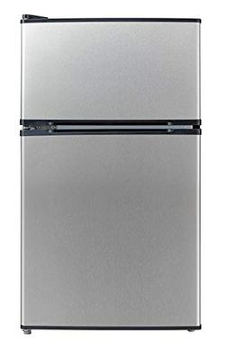 Emerson CR510BSSE 3.1-Cubic Foot Compact Double Door Refrige