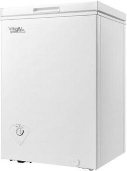 Chest Freezer  3.5 Cu Ft Storage Ice Deep Freeze  Quick  Def