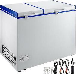 Deep Freezer Chest Freezer 8.2 cu ft 2 Separate Zones Freeze