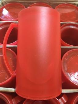 Double Wall Gel Frosty Freezer Mugs BPA Free, Set of Four, R