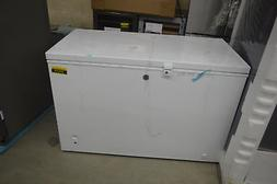 "GE FCM11PHWW 51"" White Manual Defrost Chest Freezer NOB #375"