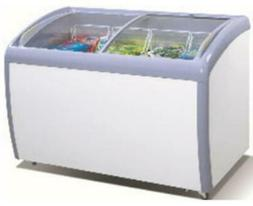 ATOSA Freezer Chest: 39-in Angle Curved Top Chest Freezer 9