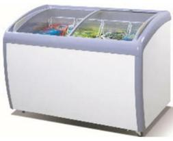 ATOSA Freezer Chest: 52-in Angle Curved Top Chest Freezer 12