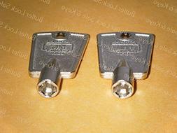 Compx National D8590 Metal Freezer Key compatible with Frigi