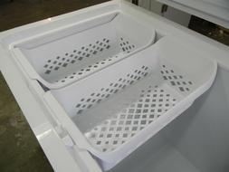 "Get **2** Brand New Frigidaire 22-1/2"" White Freezer/Storage"