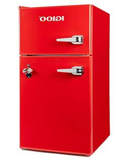 Igloo IRF32DDRSRD Classic Compact Double Door Refrigerator F