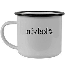 #kelvin - Stainless Steel Hashtag 12oz Camping Mug