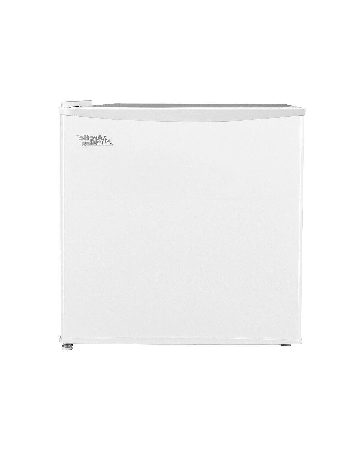 1.1 cu Freezer Unit Compact Home Space Saver Energy Efficient White