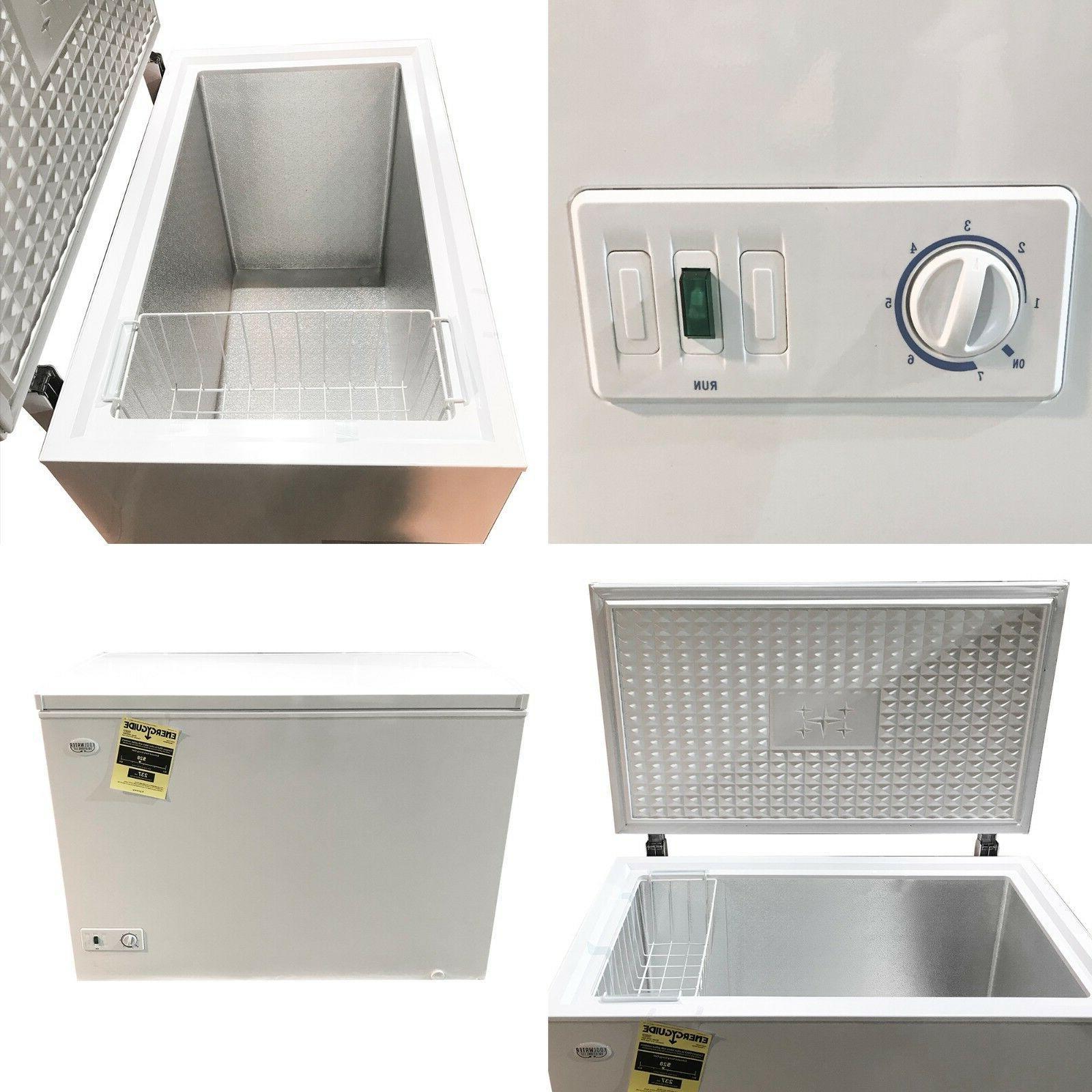 Kool cu ft Chest White Food Storage