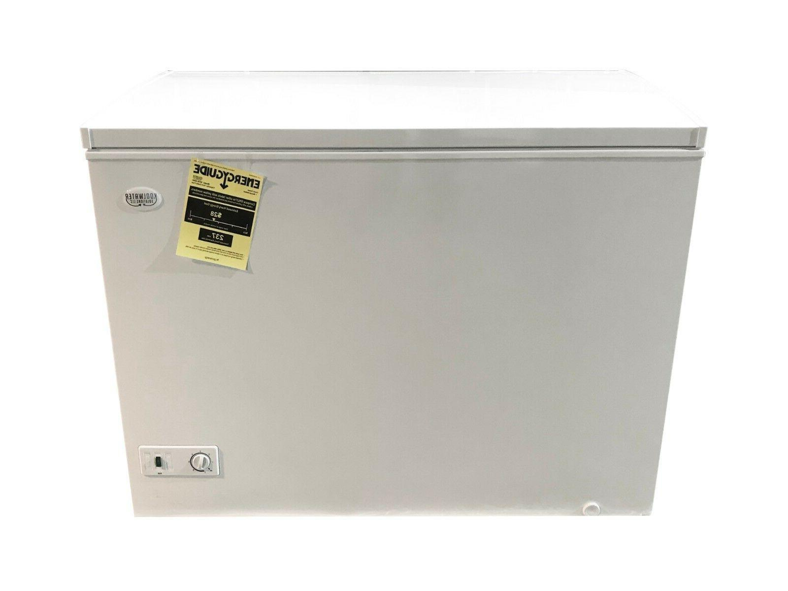 10 cu ft chest freezer white deep